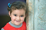 Fatima Al Saye, a 3-year old refugee from Aleppo, Syria, lives in Amman, Jordan. Her family received a box of household supplies from International Orthodox Christian Charities, a member of the ACT Alliance. IOCC supports Syrian refugee families in Jordan, as well as many poor Jordanian families that have been negatively impacted by rising rents and prices for basic commodities, the result of the influx of Syrians into the country. <br /> <br /> Parental consent obtained.