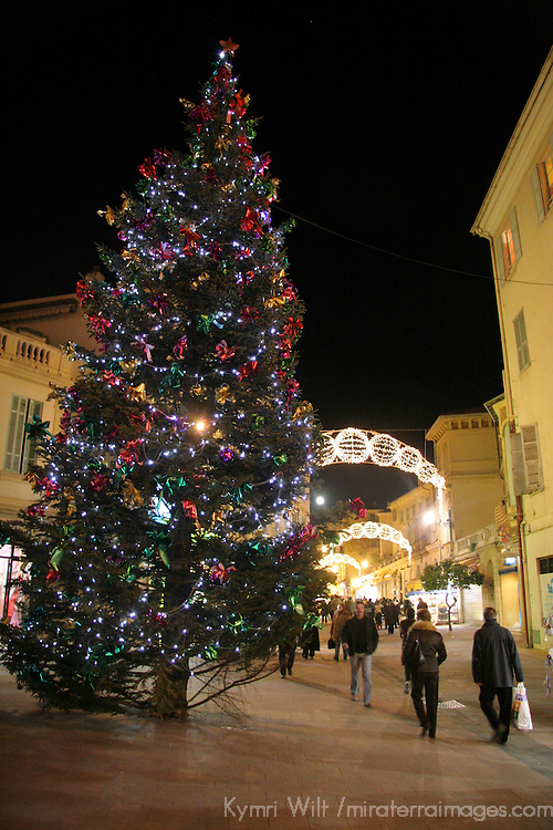 Europe, France, Menton. Christmas in Menton
