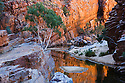 Australia, Northern Territory; Ormiston Gorge in MacDonnell Ranges