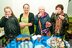 Food Fair: Tasting the food in the Taste The World Food Trail in Listowell on Saturday last were  Millie Sheehan, Lizzy Lyons, Lizzy's Little Kitchen, Mary Cogan & Lucy Hearne in Lizzy's Little Kitchen.