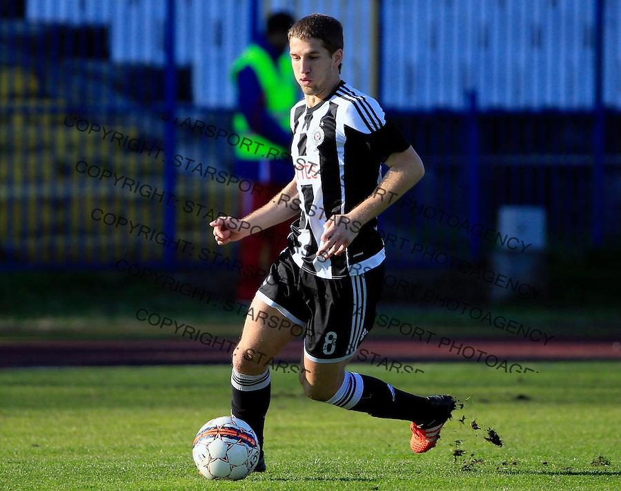 Fudbal Jelen Super League season 2015-2016<br /> Spartak v Partizan<br /> Darko Brasanac<br /> Subotica, 29.11.2015.<br /> foto: Srdjan Stevanovic/Starsportphoto&copy;