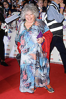 LONDON, UK. October 31, 2016: Miriam Margolyes at the Pride of Britain Awards 2016 at the Grosvenor House Hotel, London.<br /> Picture: Steve Vas/Featureflash/SilverHub 0208 004 5359/ 07711 972644 Editors@silverhubmedia.com