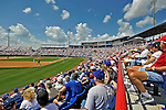 15 March 2008: A crowd of of 4309 fans enjoy a Grapefruit League Spring Training game between the Los Angeles Dodgers and the Washington Nationals at Space Coast Stadium in Viera, Florida...Mandatory Photo Credit: Ed Wolfstein Photo
