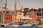 Schooners in Gloucester Harbor, Gloucester, Cape Ann, MA, USA