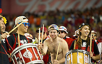 STANFORD, CA - January 2, 2012: Stanford band members at the Fiesta Bowl at University of Phoenix Stadium in Phoenix, AZ. Final score Oklahoma State wins 41-38.