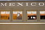 Railway car, Museo Nacional de los Ferrocarriles Mexicanos or National Railway Museum in the city of Puebla, Mexico