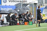 VOETBAL: LEEUWARDEN: 16-08-2015, SC Cambuur - Feyenoord, uitslag 0-2, Feyenoord trainer Giovanni van Bronckhorst, ©foto Martin de Jong