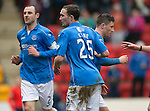 St Johnstone v Celtic.....14.02.15<br /> No celebration from Michael O'Halloran as he gets a goal back for saints<br /> Picture by Graeme Hart.<br /> Copyright Perthshire Picture Agency<br /> Tel: 01738 623350  Mobile: 07990 594431