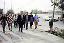 Irak 2000.Etudiants à Erbil.   Iraq 2000.Students in Erbil