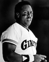 Giants Kevin Mitchell (photo by Ron Riesterer)