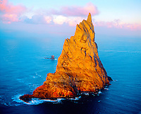 Balls Pyramid, World's Tallest Seastack (1811 ft), Lord Howe Island National Park, New South Wales, Australia