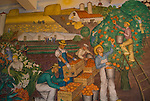 California: San Francisco. WPA murals. Coit Tower, Telegraph Hill. Photo copyright Lee Foster. Photo #: san-francisco-coit-tower-19-casanf78747