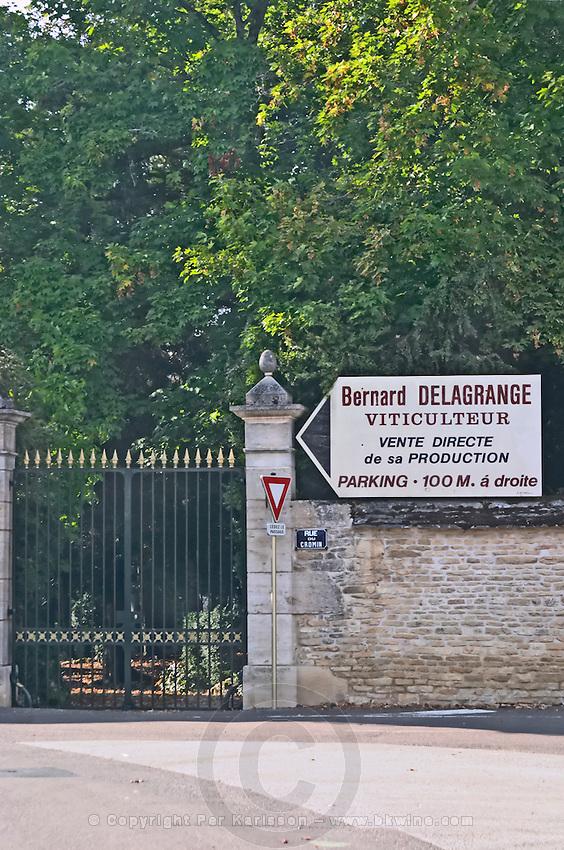 Bernard Delagrange. Burgundy, France