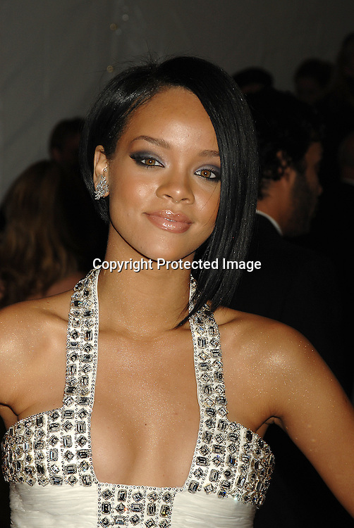 Rihanna..arriving at The Metropolitan Museum of Art's Costume Institute Gala on May 7, 2007 in New York City. The Gala celebrates the exhibition: Poiret: King of Fashion..Robin Platzer, Twin Images......212-935-0770