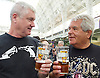 The Great British Beer Festival <br /> at Olympia, London, Great Britain <br /> 9th August 2016 <br /> 1st day <br /> <br /> The Campaign for Real Ale <br /> Great British Beer Festival <br /> Atmosphere<br /> <br /> Photograph by Elliott Franks <br /> Image licensed to Elliott Franks Photography Services