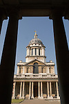 The Old Royal Naval College Greenwich SE London England. 2006