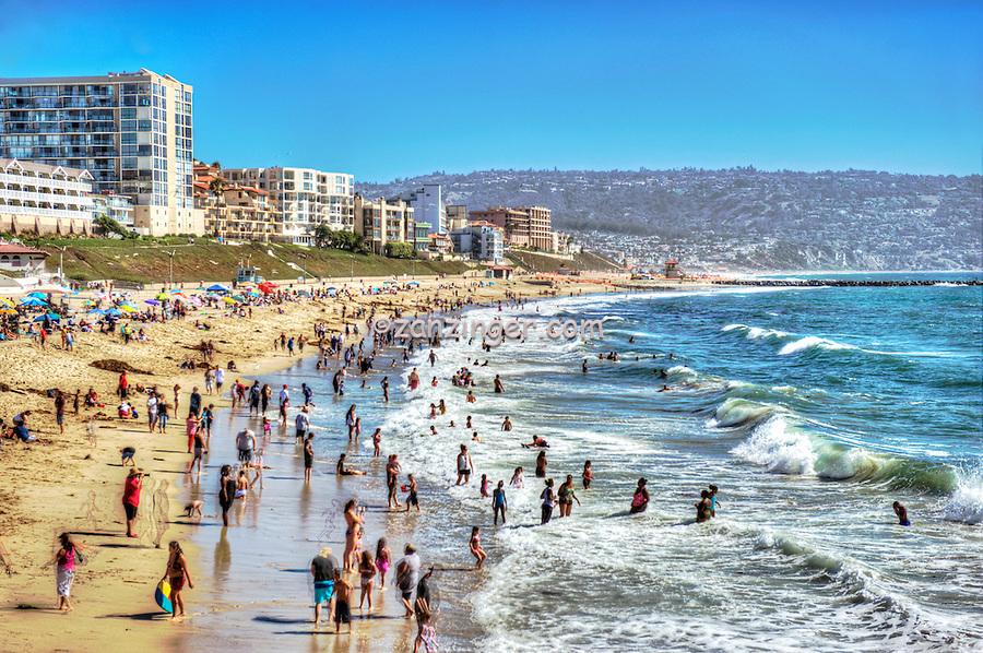 Ocean Beach People Redondo Beach ca Ocean
