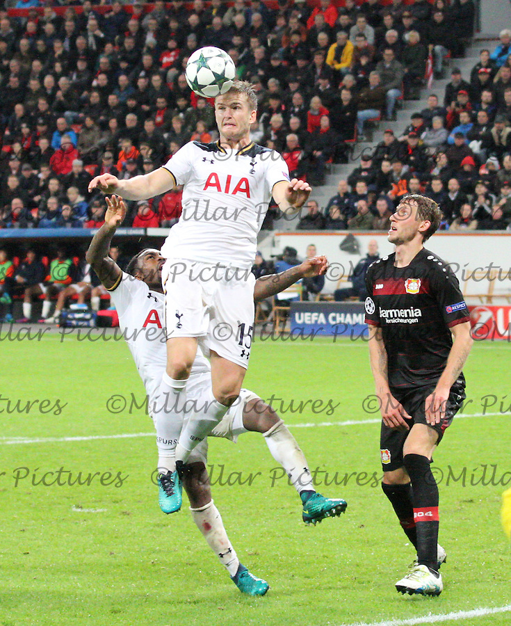 Bayer 04 Leverkusen v Tottenham Hotspur Champions League 181016