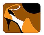 Close up of high heeled ladies shoe
