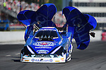May 5, 2012; Commerce, GA, USA: NHRA funny car driver Robert Hight during qualifying for the Southern Nationals at Atlanta Dragway. Mandatory Credit: Mark J. Rebilas-