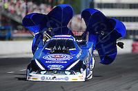 May 5, 2012; Commerce, GA, USA: NHRA funny car driver Robert Hight during qualifying for the Southern Nationals at Atlanta Dragway. Mandatory Credit: Mark J. Rebilas-