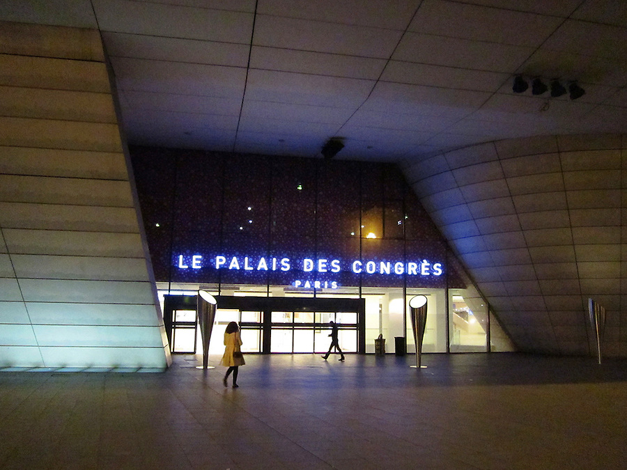 Paris, France Le Palais du Congres, convention center, Paris, France