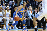 16 November 2014: UCLA's Recee' Caldwell. The University of North Carolina Tar Heels hosted the University of California Los Angeles Bruins at Carmichael Arena in Chapel Hill, North Carolina in a 2014-15 NCAA Division I Women's Basketball game. UNC won the game 84-68.