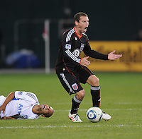 DC United Kurt Morsink (6).  San Jose Earthquakes defeated DC United 2-0 at RFK Stadium, October 9, 2010.