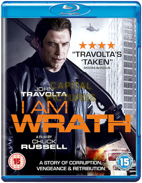 I Am Wrath (2016) <br /> BLU RAY COVER ART<br /> *Filmstill - Editorial Use Only*<br /> CAP/KFS<br /> Image supplied by Capital Pictures