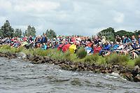 ZEILEN: ELAHUIZEN: De Fluezen, 05-08-2016, SKS Skûtsjesilen, ©foto Martin de Jong