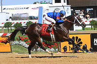 Hamazing Destiny with Coery Nakatani win the Grade III Maryland Sprint Handicap for 3-year olds & up going 6 furlongs at Pimlico Racetrack. Trainer D. Wayne Lukas.  Owner Westrock Stables LLC & Barry Butzow.
