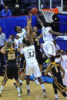 The Bearcats tries to tip-in the ball. Cincinnati defeated Missouri 78-63 during the NCAA tournament at the Verizon Center in Washington, D.C. on Thursday, March 17, 2011. Alan P. Santos/DC Sports Box