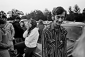 Wise, Virginia<br /> USA<br /> July 24, 2009<br /> <br /> Harry Bolling, 56, is one of many people sleep overnight in their cars in hopes of being the first in line and then waiting in line at 5.30AM to enter a Remote Area Medical (RAM) health clinic at the Wise County Fairgrounds. The free clinic, which lasts 2-1/2 days, is the largest of its kind in the nation, providing medical, dental and vision services from more than 1,400 medical volunteers will treat nearly 4,000 patients. For many residents of this Appalachian area the RAM clinic serves as the only medical care they may receive each year.