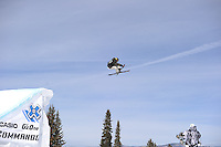 Aspen, Co - 26, JANUARY 2012 - Buttermilk Mountain:  Sammy Carlson competing in Men's Ski Slopestyle Elimination during Winter X Games 16..(Photo by Scott Clarke / ESPN Images)..- RAW FILE AVAILABLE -