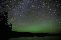 &quot;Airglow over Crooked Lake&quot;<br />