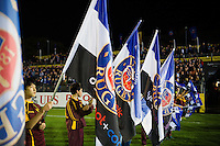 A general view of the half-time guard of honour. Aviva Premiership match, between Bath Rugby and Sale Sharks on October 7, 2016 at the Recreation Ground in Bath, England. Photo by: Patrick Khachfe / Onside Images