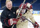 120406-Ferris State University Bulldogs and Boston College Eagles practice