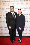 Alvaro Domingo and Renee Domingo  Attend Hearts of Gold's 16th Annual Fall Fundraising Gala & Fashion Show Held at the Metropolitan Pavilion, NY   11/16/12