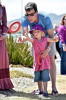 Eleanor and Eric Crampton Petone Settlers 175th Anniversary on the Petone Foreshore, Lower Hutt, New Zealand on Sunday 19 January 2015. <br /> Photo by Masanori Udagawa.<br /> www.photowellington.photoshelter.com.