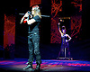 THE ILLUSIONISTS - WITNESS THE IMPOSSIBLE<br /> Conceived by Simon Painter at the Shaftesbury Theatre, London, Great Britain <br /> Press photocall <br /> 13th November 2015 <br /> <br /> <br /> <br /> Ben Blaque - The Warrior <br /> <br /> <br /> Photograph by Elliott Franks <br /> Image licensed to Elliott Franks Photography Services