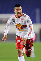 Connor Chinn (25) of the New York Red Bulls. The New York Red Bulls defeated the New England Revolution 3-0 during a U. S. Open Cup qualifier round match at Red Bull Arena in Harrison, NJ, on May 12, 2010.
