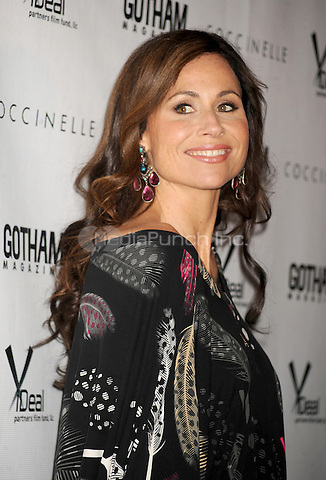 Minnie Driver at the film premiere for Motherhood at The School of Visual Arts Theater in New York City. October 14, 2009.. Credit: Dennis Van Tine/MediaPunch