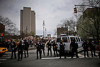 Protesters march against police brutality in Manhattan