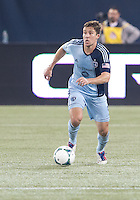 March 9, 2013: Sporting KC defender Matt Besler #5 in action during a game between Toronto FC and Sporting Kansas City at the Rogers Centre in Toronto, Ontario Canada..Toronto FC won 2-1.