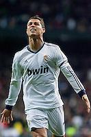 Cristiano Ronaldo Celebrates his goal against Atletico de Madrid