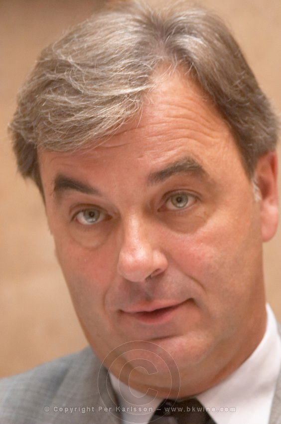 Frank Boisset, manager. Chateau la Dominique, Saint Emilion, Bordeaux, France