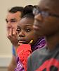 Houston ISD EMERGE students visit Stonehill College, June 5, 2014.