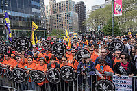 NEW YORK, NY - May 01:  Hundreds of people attend to the the May Day Strike for workers rights at Foley Square. Labor unions and civil rights groups staged May Day rallies in several U.S. cities on Monday to denounce President Donald Trump's get-tough policy on immigrationIn New York City on May 01, 2017. Photo by VIEWpress/Maite H. Mateo.