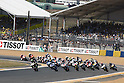 May 23, 2010 - The Moto2 riders are pictured during the forst lap of the Moto2 race at the French Grand Prix at Le Mans circuit, France, on May 23, 2010. (Photo Andrew Northcott/Nippon News)