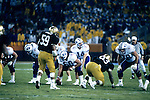 FTB 8812 171 Colorado<br /> <br /> Freedom Bowl- BYU vs Colorado. 14 Ty Detmer Quarterback. Offensive Linemen: 66 Mohammed Elewonibi. 60 Phil Nauahi. 78 Warren Wheat.<br /> <br /> December 29, 1988<br /> <br /> Box Number: 23086<br /> <br /> Photo by: Mark Philbrick/BYU<br /> <br /> Copyright BYU PHOTO 2008<br /> All Rights Reserved<br /> 801-422-7322<br /> photo@byu.edu